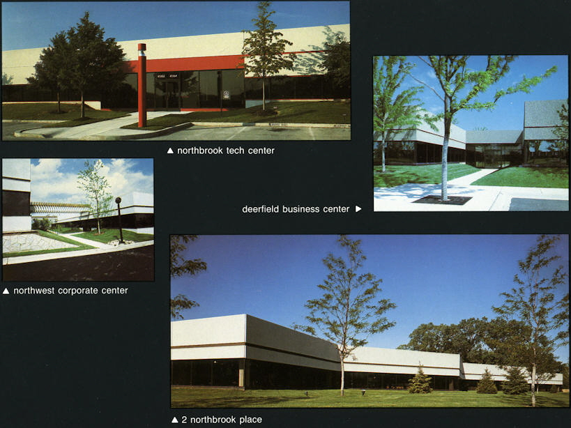 Single story offices tech centers for Office design northbrook il